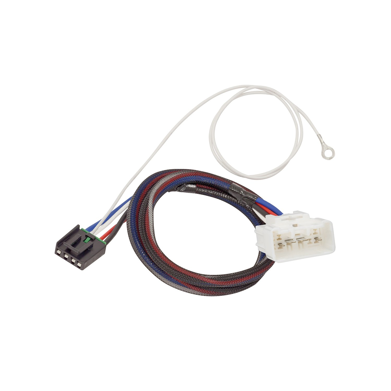 Tekonsha 3031 P Trailer Brake Control Harness 2 Plug Wiring Adapter Toyota 4runner Adaptor Automotive