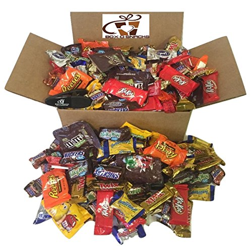 Box-O-Snacks Chocolate Lovers Variety Box 4 Pounds of Candy (Chocolate Lovers Basket Gift)
