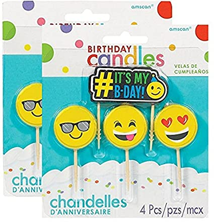 Ct Pick 3 >> Amazon Com Emoji Pick Candle Set 4 Ct 2 Pack Home Kitchen