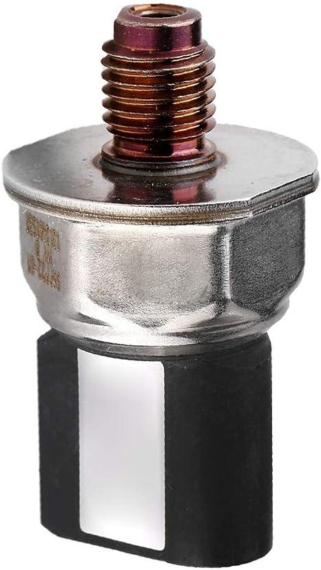 Aramox Capteur de pression de rampe de carburant Capteur de pression de rampe de carburant diesel dorigine pour OE CLASSE E OE 55PP22-01 9307Z521A