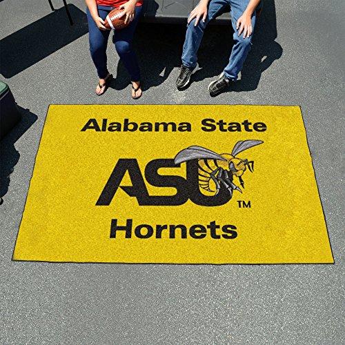Fan Mats 295 ASU - Alabama State University Hornets 5' x 8' Ulti-Mat Area Rug / Mat