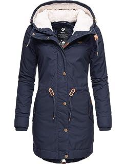 Farben 7 Winterparka A Damen Ragwear Wintermantel Elba Coat 6bfgyY7v