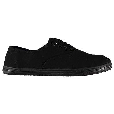 meilleure sélection paquet à la mode et attrayant acheter réel Slazenger enfant Chaussures de Toile Tennis Baskets Noir 38 ...