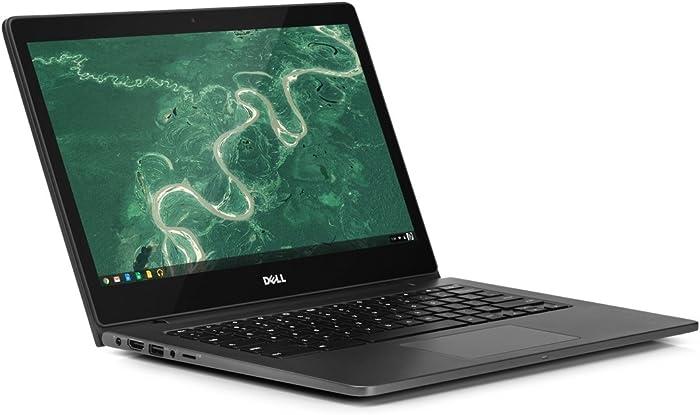 """Dell 13-7310 Intel Celeron 3215U X2 1.7GHz 4GB 16GB SSD 13.3"""" Chrome OS,Black"""