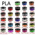 Areyourshop PLA 3D Printer Filament 1.75 mm, Dimensional Accuracy +/- 0.03mm,for 3D Printers,3D Printing Pen