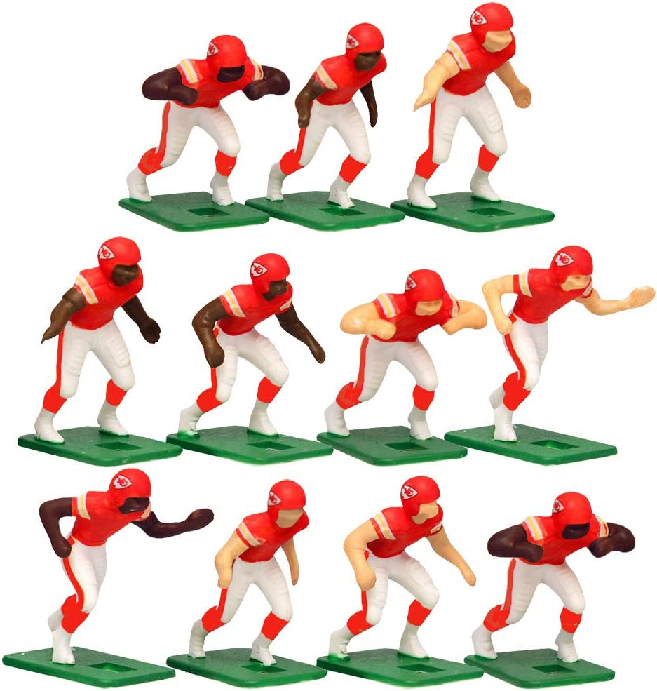 Kansas City Chiefs Home Jersey NFL Action Figure Set