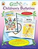 img - for Growing in Grace Children s Bulletins, Ages 7 - 10: 52 Worship Bulletins for Church book / textbook / text book