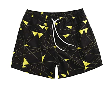 "2af6c088c75 WUAMBO Men's Sports Runnning Swim Board Shorts with Pocket,Mesh Lining Waist  26""-"