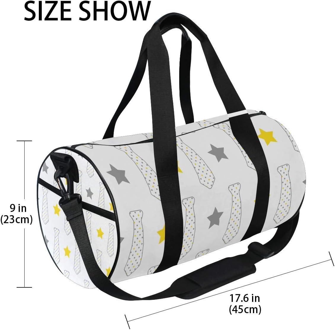 MALPLENA Man Tie Drum gym duffel bag women Travel Bag