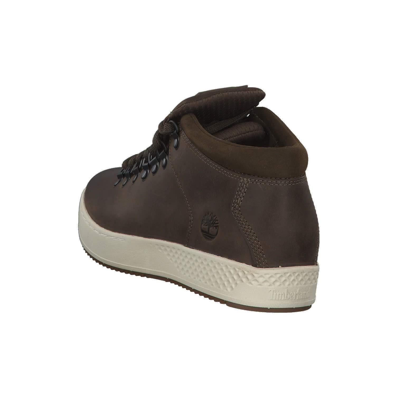 2ad327db9569 Timberland Scarpe Uomo Sneakers a Collo Alto Pelle Marrone TB0A1S6A-MORO:  Amazon.it: Scarpe e borse