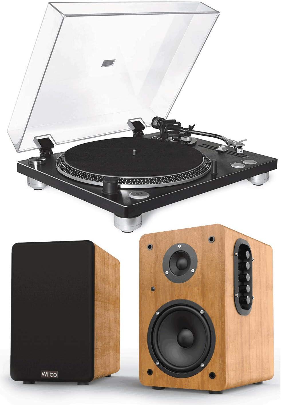 Wiibo Equipo HiFi Giradiscos Fonestar Vinyl 12U Linea/Phono ...