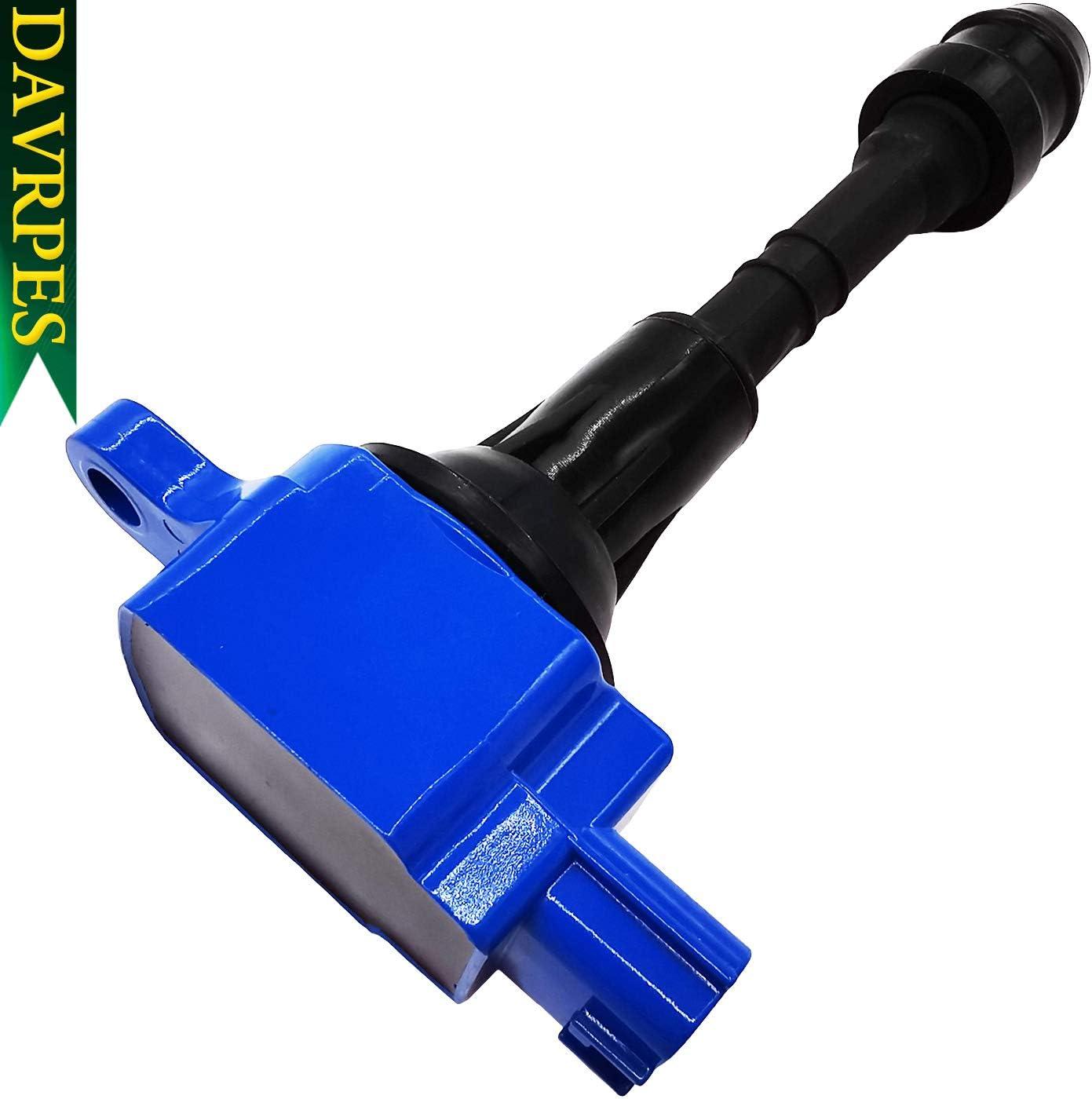 2004-2007 Titan 5.6L-V8 Replace# C1483 22448-7S015 E1010 52-1802 DAVRPES UF510 Ignition Coils Packs For 2004-2006 Infiniti QX56 5.6L-V8 2004 Pathfinder 2005-2006 Armada 5.6L-V8