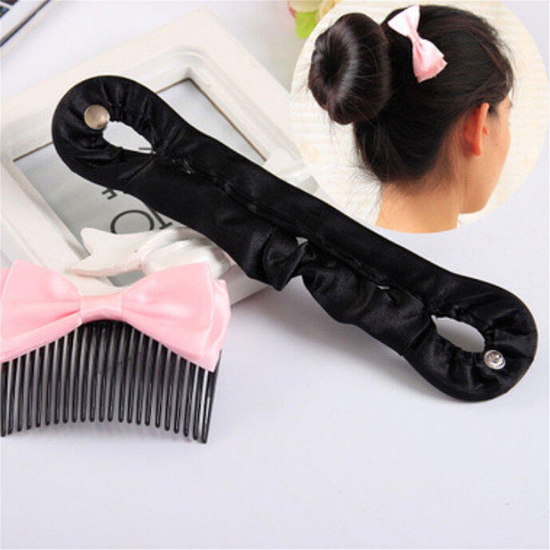 2 Sizes Women Girls Hair Braiding Tool Roller Styling Locks Weaves Hair Band Accessories 1 Pcs