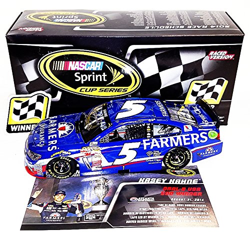AUTOGRAPHED 2014 Kasey Kahne #5 Farmers Insurance Racing ATLANTA WIN (Raced Version) Signed Lionel 1/24 NASCAR Diecast Car with COA (#264 of only 565 produced!)