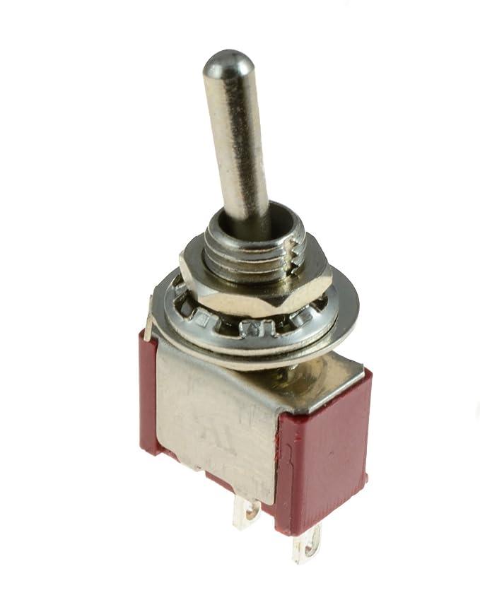 On/Off Mini interrupteur à bascule SPST miniature