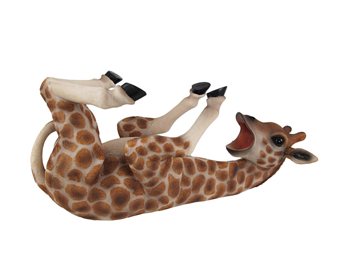 Tall Drink Giraffe Animal Tabletop Single Wine Bottle Holder