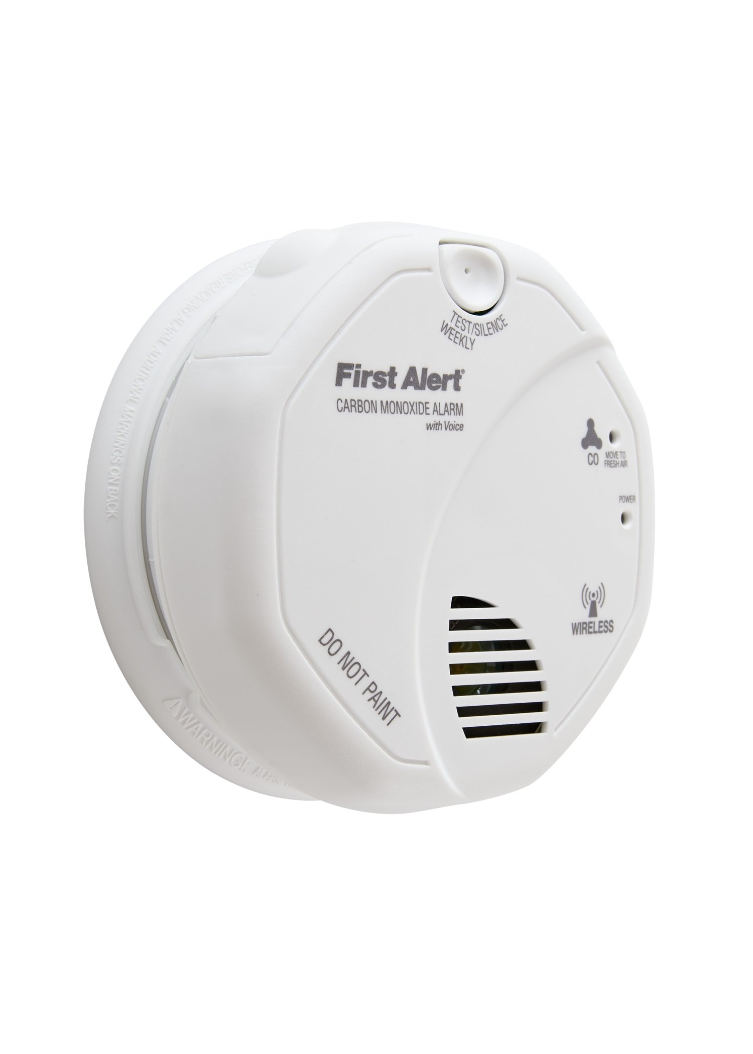 First Alert CO511B Wireless Interconnected Carbon Monoxide Alarm with Voice and Location by First Alert