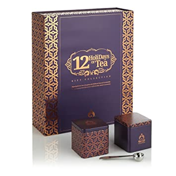 Amazon.com : Teavana 12 Days of Tea Gift Set : Gourmet Tea Gifts ...
