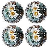 Liili Round Coasters Turbinicarpus klinkerianus Natural Rubber Material Image 20977264820