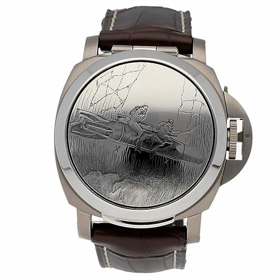 Panerai Luminor automatic-self-wind Mens Reloj pam00076 (Certificado) de segunda mano