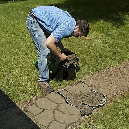 Random cobblestone mold buy online in uae products in for Garden maker online