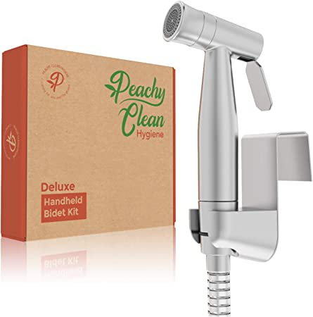 Handheld Bidet Sprayer Great Hygiene For Women Men And Children Shattaf Brushed Nickel And Stainless Steel 2 Different Water Pressure Settings Attachment Kit Included Bidet Attachments Amazon Canada