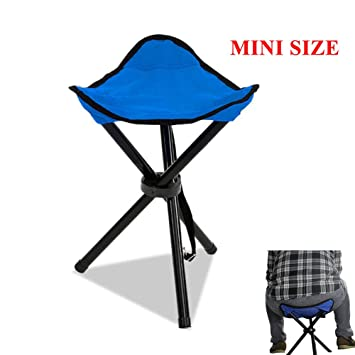 Remarkable Messar Folding Tripod Stool Portable Stable Travel Chair Tri Leg Stool For Outdoor Travel Camping Fishing Hiking Mountaineering Gardening Mini Size Inzonedesignstudio Interior Chair Design Inzonedesignstudiocom