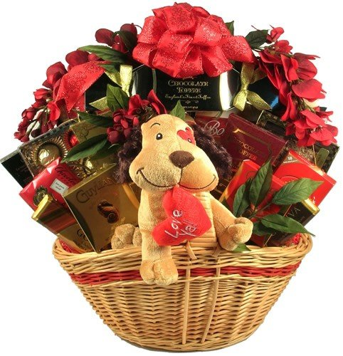 I Love You This Much! Gourmet Gift Basket of Chocolates, Brownies, and Truffles ()