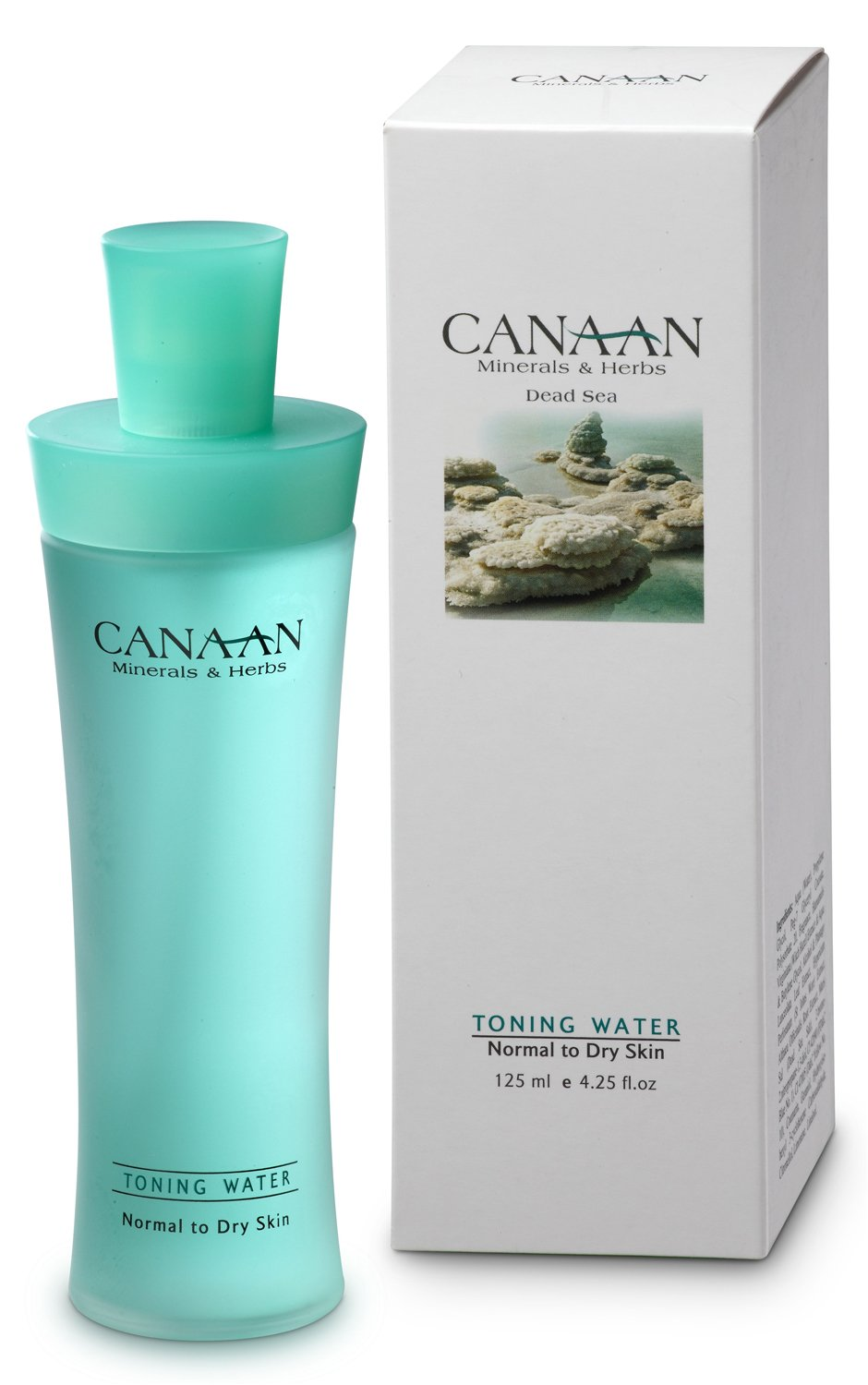 CANAAN Minerals & Herbs Dead Sea - Toning water (normal to dry skin) 125ml CHIC Cosmetics Ind. LTD.