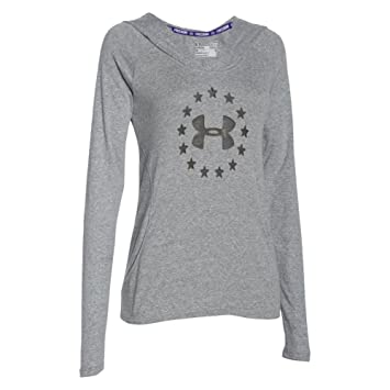 33a552eac9d7 Under Armour Womens Freedom Tri-Blend Hoody  Amazon.ca  Clothing ...