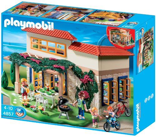 playmobil summer house - buy online in uae