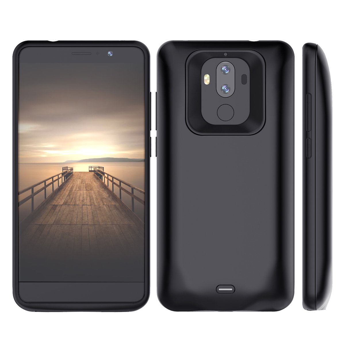 Torubia Huawei Mate 9 Battery Battery Case, Portable Charging Case Replacement for Huawei Mate 9 Battery Extended Battery Juice Power Bank ()