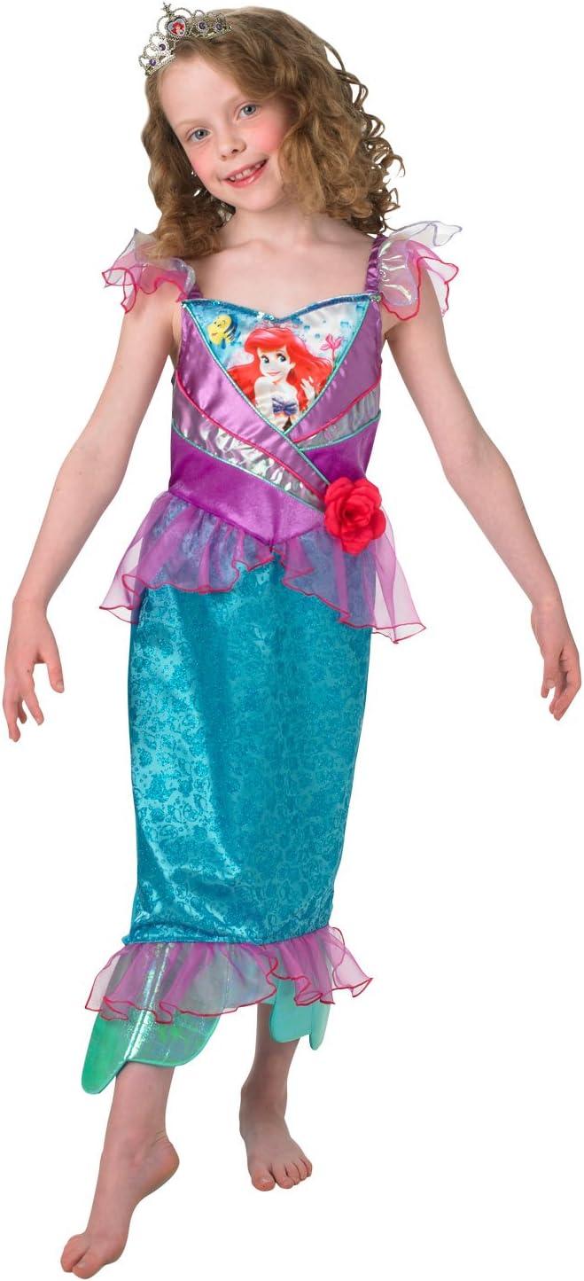 Rubies s oficial Shimmer – Ariel, niño disfraz – grande: Amazon ...