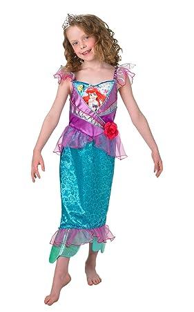 Rubies s oficial Shimmer – Ariel, los niños disfraz – pequeño
