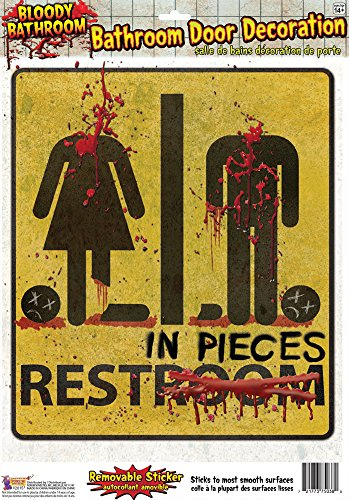 Zombie Toilet Seat - Forum Novelties 75038 Party Supplies, One