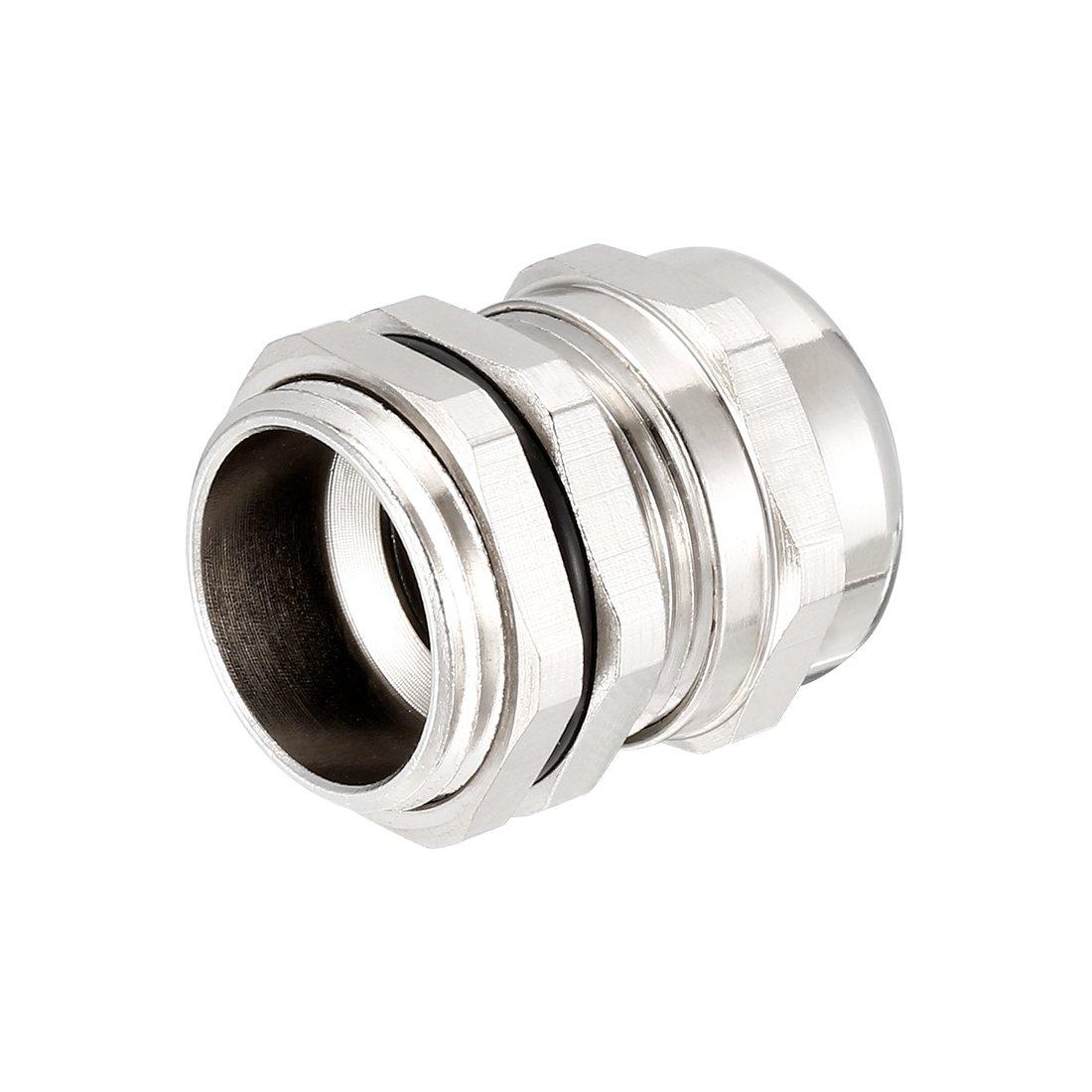 sourcing map 5pz M18 Pressa cavo in metallo connettore impermeabile filo per 5mm-10mm diam.