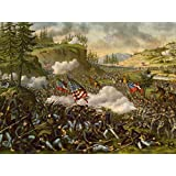WAR AMERICAN CIVIL BATTLE CHICKAMAUGA USA NEW FINE ART PRINT POSTER PICTURE 30x40 CMS CC5652