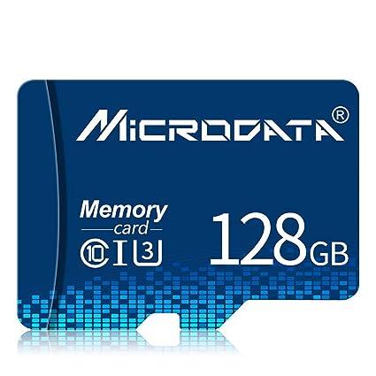 JIANG Tarjeta Micro SD SD 128GB Plus Adaptador Paquete Clase 10 ...