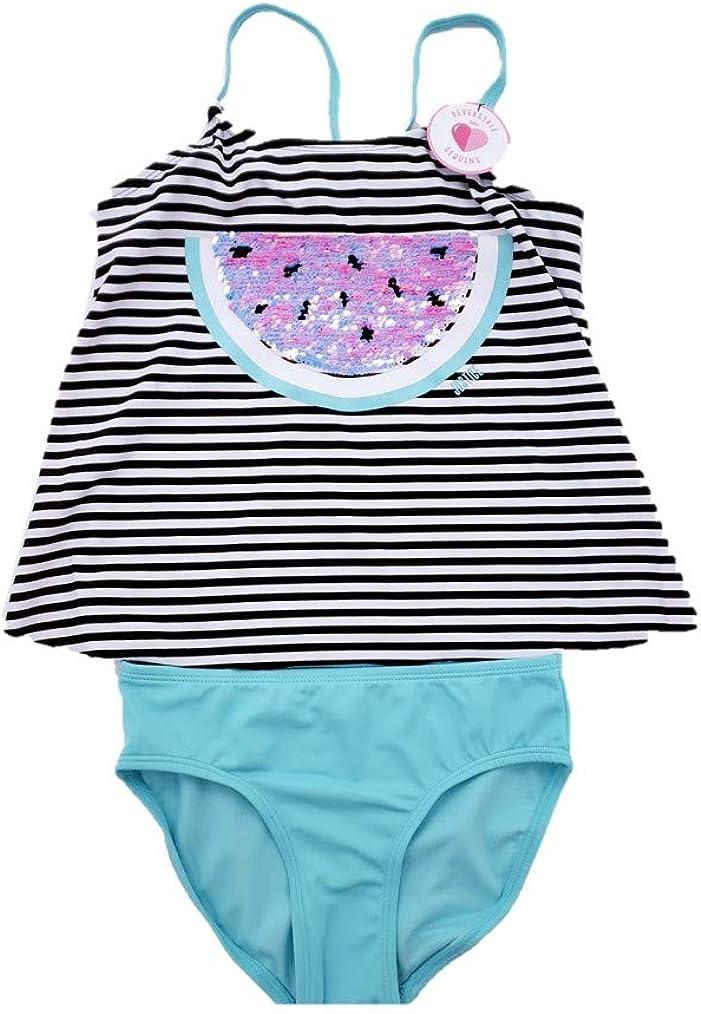 Tween Brands Justice Girls Tankini 2 Piece Bathing Suit