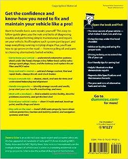 Auto Repair For Dummies: Deanna Sclar: 8601404274701