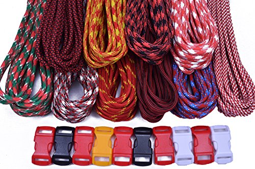 BoredParacord Brand Paracord Starter Kit - Big Red Combo Kit by BoredParacord (Image #2)