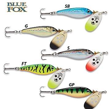 Vibrax Blue Fox Super Minnow Fishing Spinners