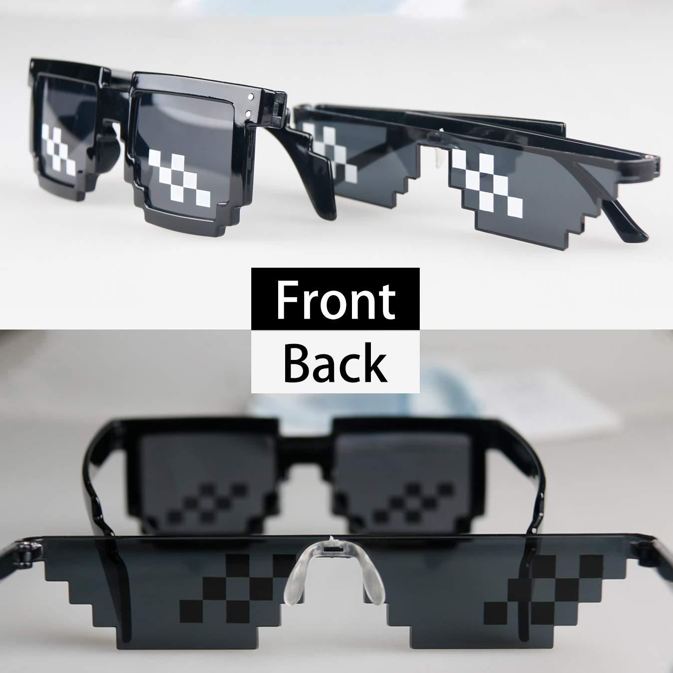 Amazon.com: Dawneric Thug-Life - Gafas de sol para ...
