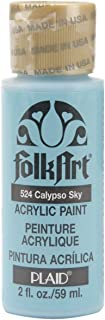 product image for FolkArt Acrylic Paint in Assorted Colors (2 oz), 524, Calypso Sky