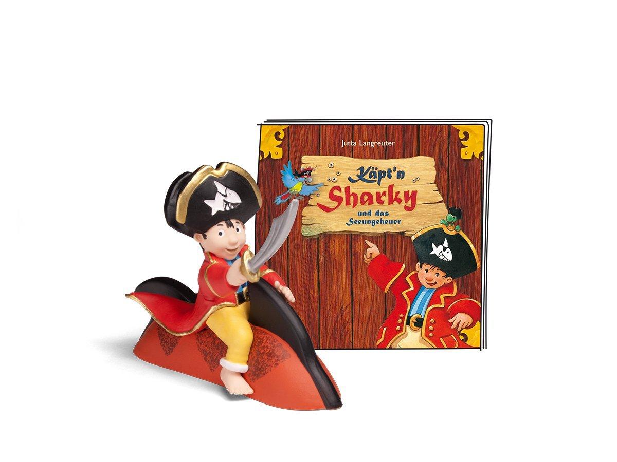 tonies® Hörfigur - Käpt'n Sharky - Käpt'n Sharky und das Seeungeheuer Boxine GmbH