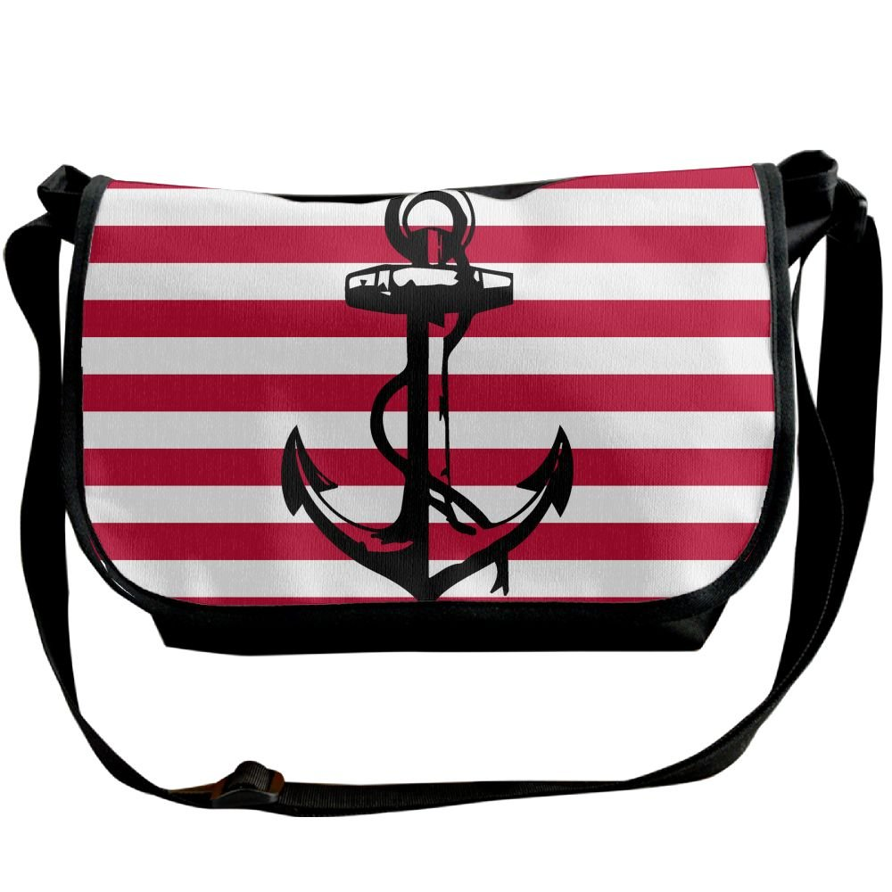 InterestPrint Red Mustaches Waterproof Travel Bag Sports Duffel Tote Overnight Bag