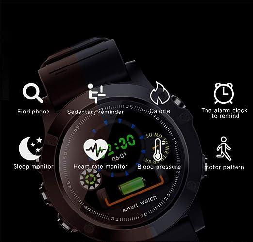Mens SmartWatch,Smart Bracelet,Heart Rate Blood Pressure ...
