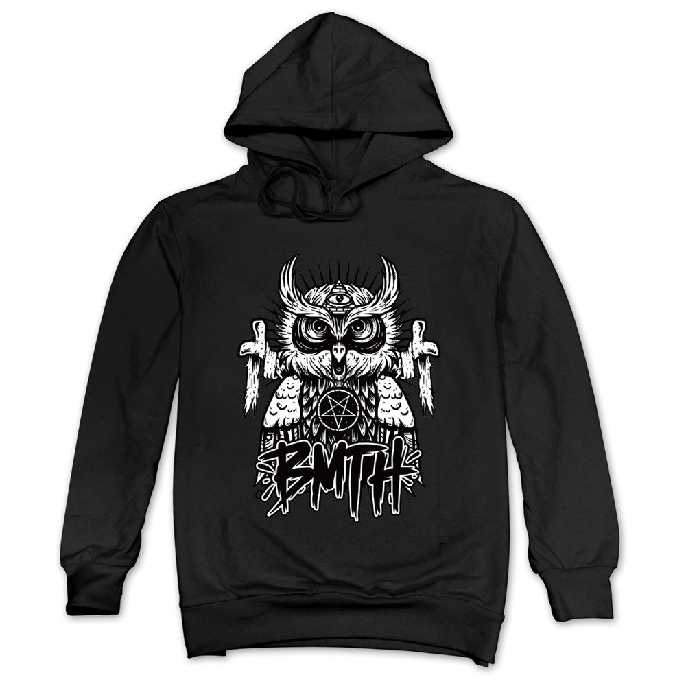 65e3ad1673086a MAGGO Bring Me The Horizon New Happy Song Hoodies Mens Black Unknown Binding