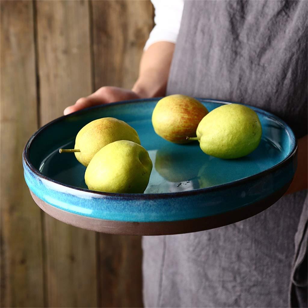D/îner Cuisine Craft 27.8cm Porcelaine Malacasa Grand Assiettes /à d/îner Assiettes /à salade Colourworks Assiettes rondes Assiettes /à dessert en c/éramique sans danger Assiettes /à soupe Porcel 11 Pouces