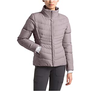 Amazon.com: The North Face Women Thermoball Full Zip - Tin ...